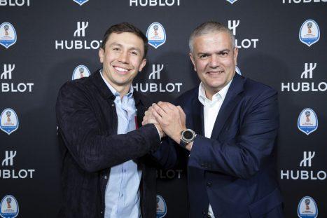 Gennady Golovkin and Ricardo Guadalupe
