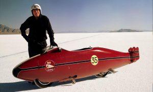 Burt Munro en nieve Clifton