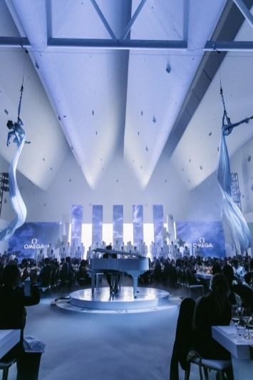 Panorámica a auditorio del evento OMEGA
