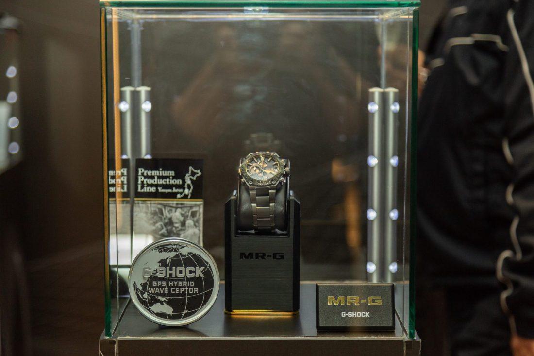 CASIO GSHOCK SIAR MX 2018 especial en mostrador del evento