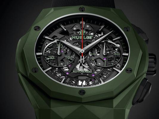 Reloj HUBLOT color verde militar