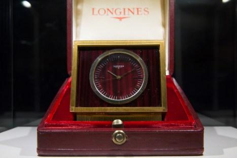 """Reloj de mostrador Longines en el estreno de """"Back to the future of Quartz"""""""