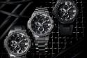 3 relojes G-SHOCK con fondo de color negro