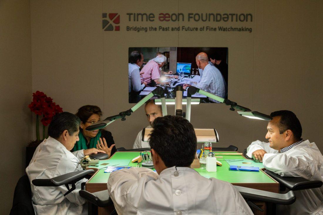 Talleres Time Aeon Foundation en México SIAR 2018