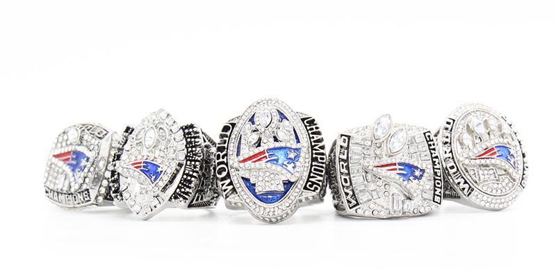 Anillos Super Bowl de New England Patriots