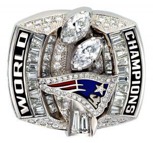 Anillo Super Bowl de New England Patriots 2003
