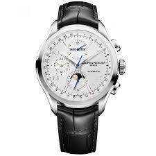 alta relojería por Amor y pasión fina con alta relojería de Baume & Mercier Clifton Cronógrafo