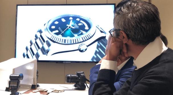 Presentación del nuevo reloj de Rolex