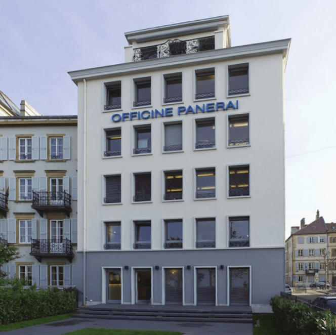 Edificio de Manufactura Office Panerai