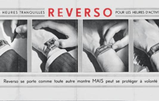 Periódico Reverso con imágenes de relojes