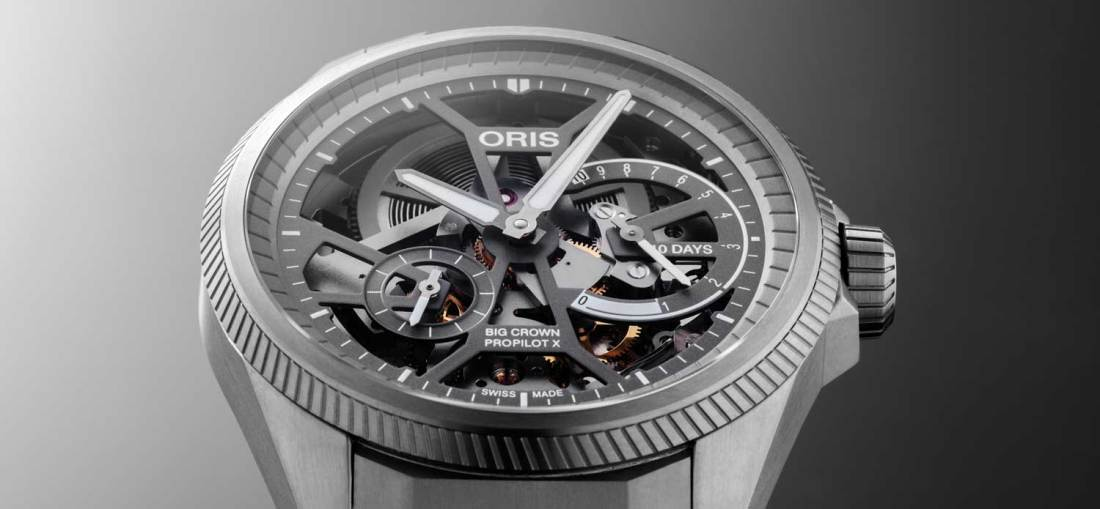 Reloj Big Crown ProPilot Calibre X 115 en color plateado
