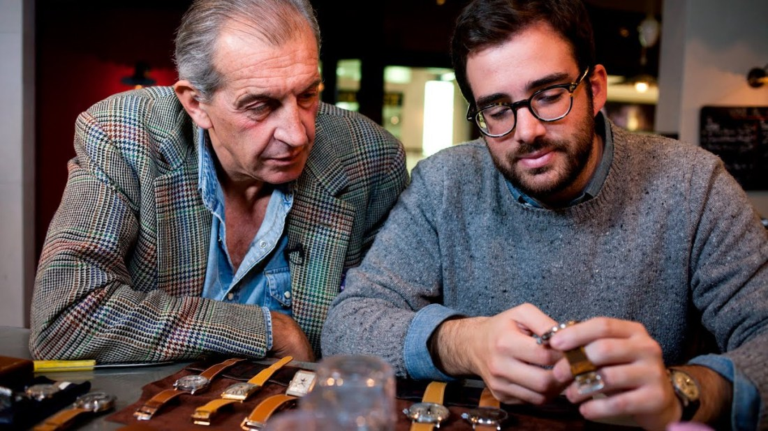 "John Goldberger en ""Talking Watches"" de Hodinkee."
