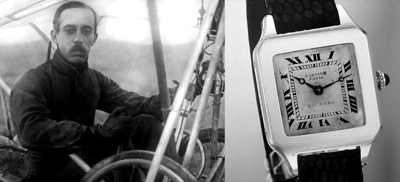 Cartier Santos reloj de pulso
