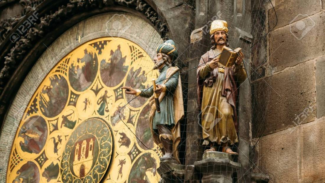 The astronomical clock, or Prague orloj is a medieval clock in P