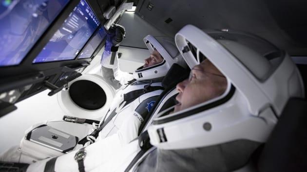 Space X Crew Dragon capsule