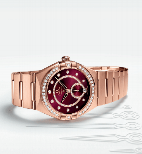 Novedades OMEGA 2021 Constellation Small Seconds