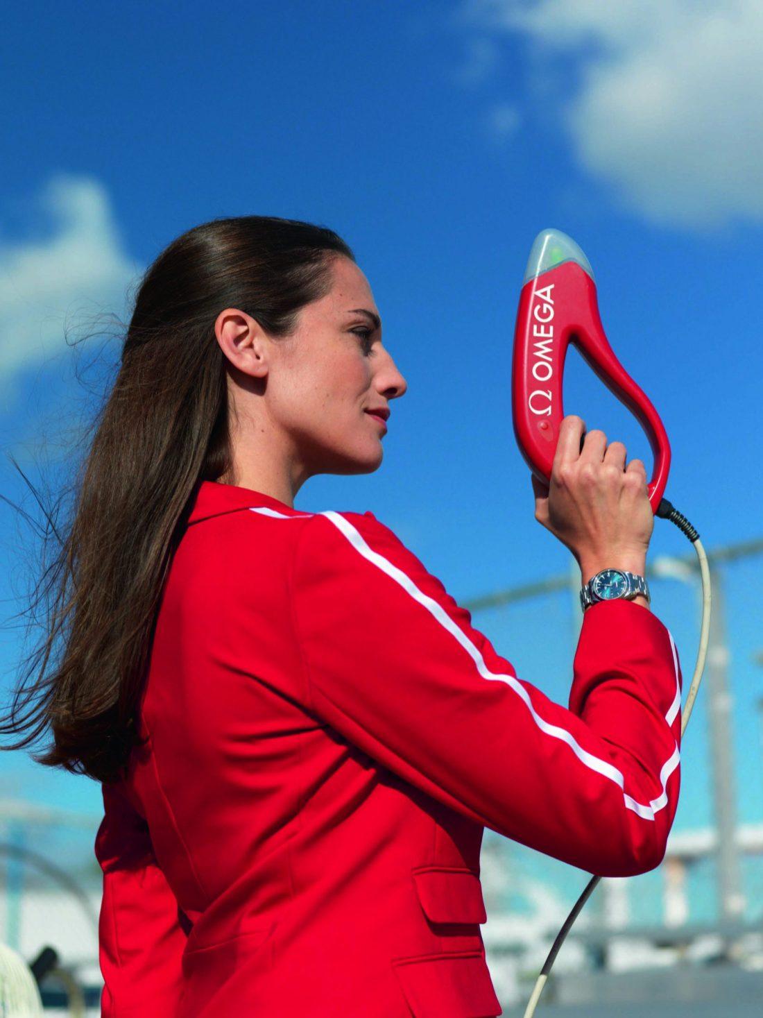Pistola de Arranque juegos olímpicos OMEGA