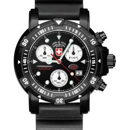 CX Swiss military SW1 scuba nero