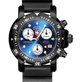 CX Swiss military SW1 Scuba nero