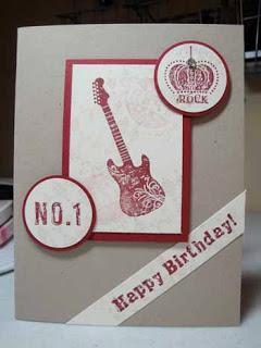 Grunge Rock Stamp Set