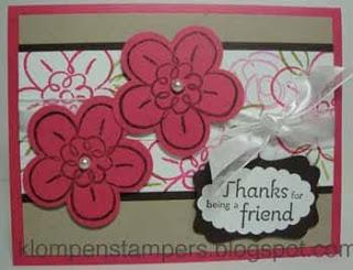 New Stamp Set:  FLOWER FEST