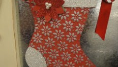 Stampin Up Holiday Stocking Big Shot Die