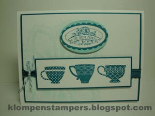 NEW STAMPS!!!  Tea Shoppe