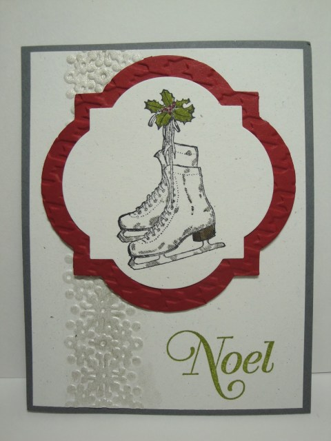 Day #1:  30 Days of Christmas Cards!