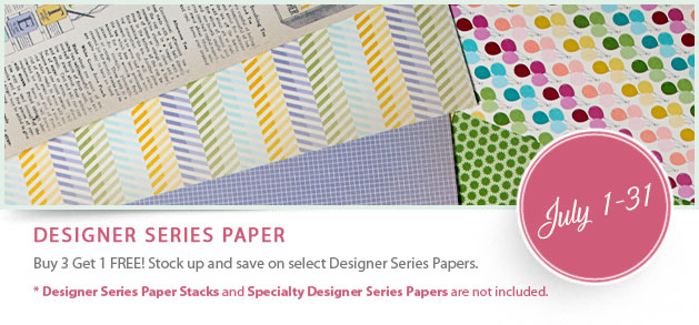 Stampin' Up! DSP Coordinating Colors