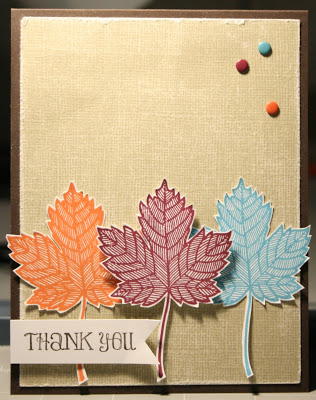 Friday Favorite: Magnificent Maple Single Stamp