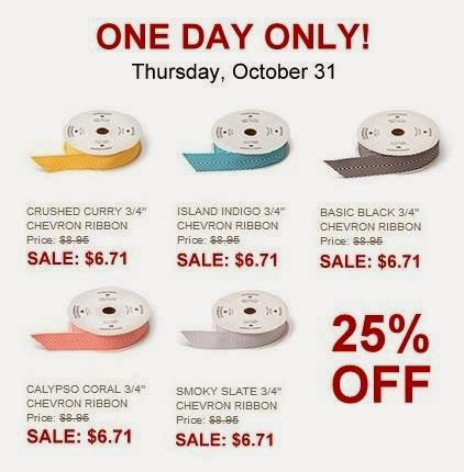 Favorite Ribbon On Sale–TODAY ONLY