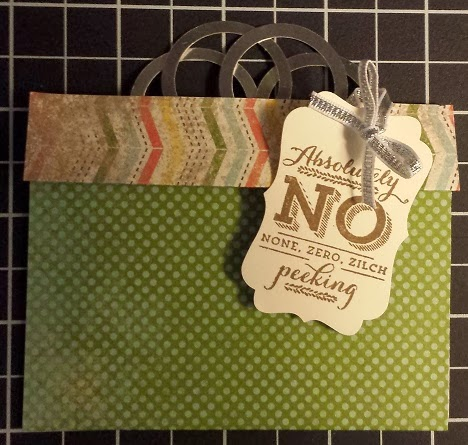 Day #8:  Gift Card Holders