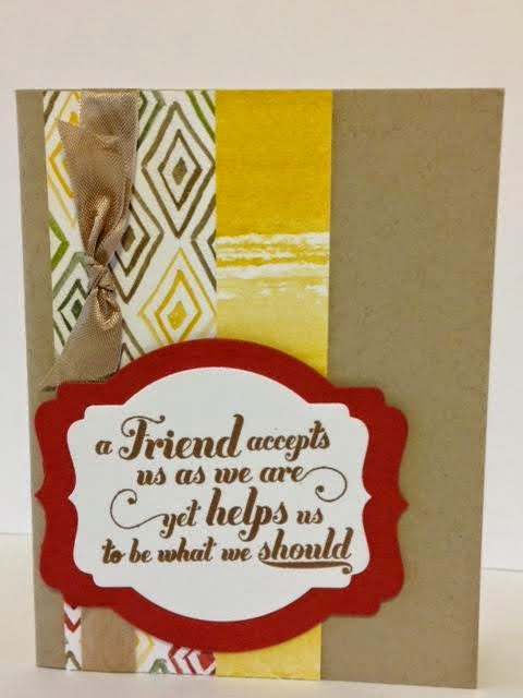 Paper, Words & Ribbon–that's all you need!