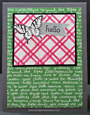 "Embossing and ""Stamping"" With Embossing Folders"