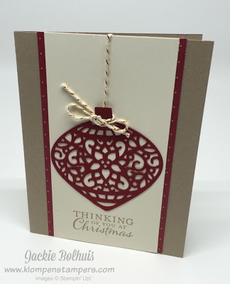 More ORNAMENT Cards