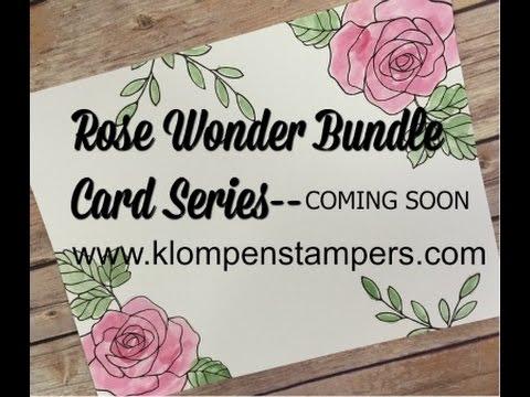 Sneak Peak of Rose Wonder Bundle