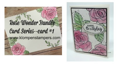 Rose Wonder Card Series–Card #1