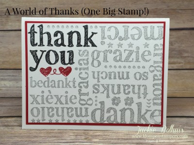 A World Of Thanks