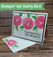 Swirly Bird Card Series #1