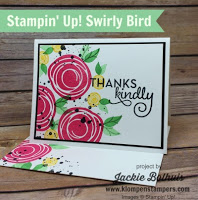 Swirly Bird Card Series #2