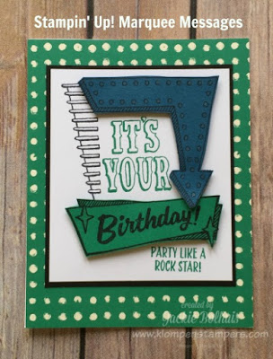 Marquee Messages Card Series #1