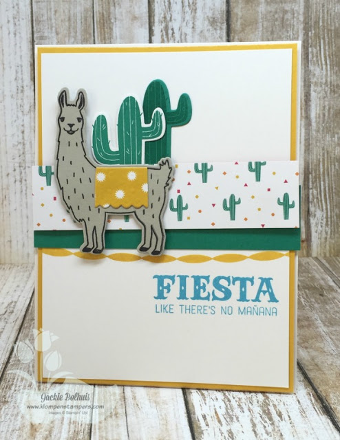 Birthday Fiesta Card Series:  Card #1