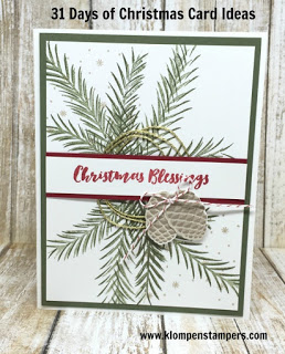 31 Days of Christmas Cards – Day #27
