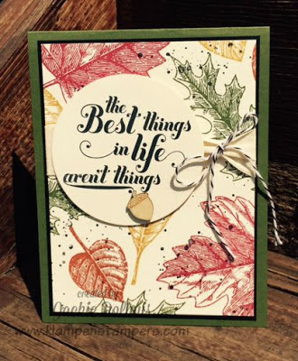 More Cards Using Vintage Leaves