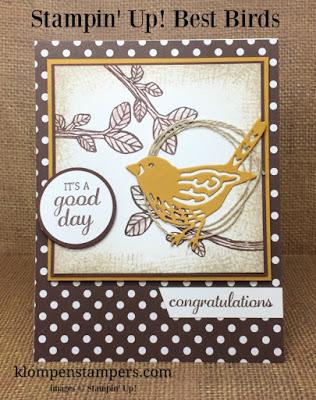 Best Birds Card Series:  Card #1