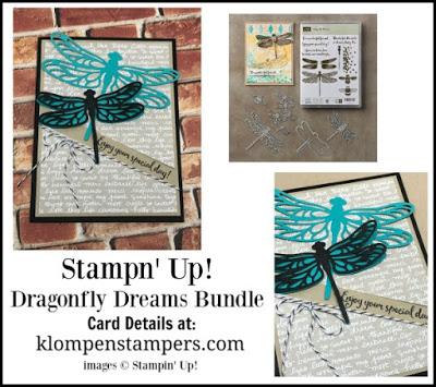 Dragonfly Dreams–Quick & Easy Card