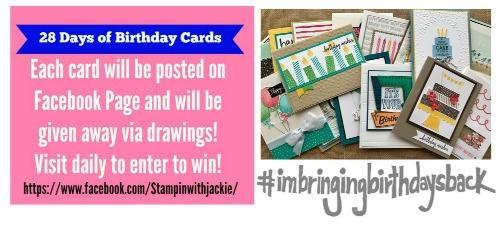 28 Days of Birthday Cards — Day #5