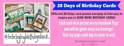 28 Days of Birthday Cards–Card #1