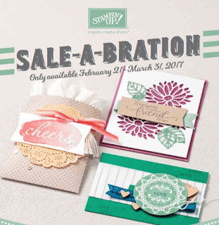 New Sale-a-bration Items Available TODAY