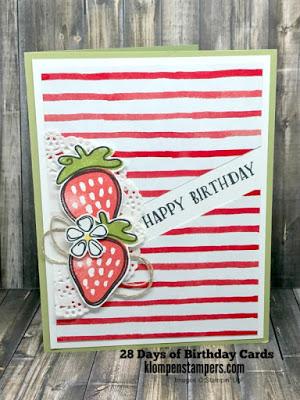 28 Days of Birthday Cards – Day #20